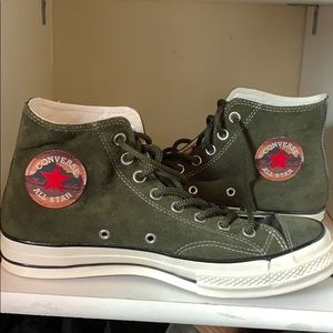 Never worn before converse high tops! Size 10.5